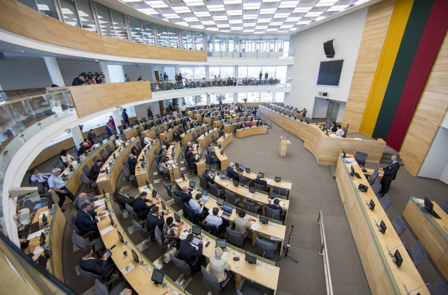 Seimo plenarinis posėdis