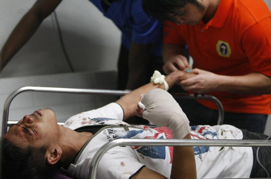 Sužeistasis Filipinuose