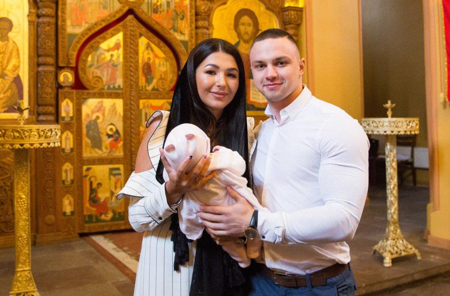 Sofio Gelašvili-Niūniavės ir Dominyko Niūniavos dukros krikštynos