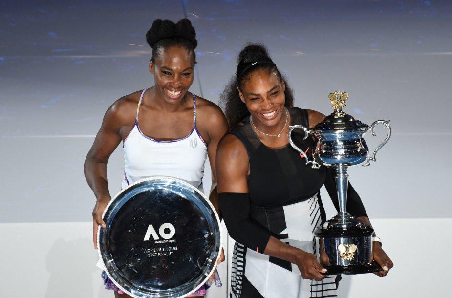 "Serena Williams ""Australian Open"" finale pranoko seserį Venus"