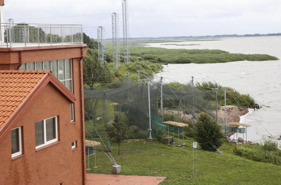 Rekonstruota Ventės rago ornitologinė stotis