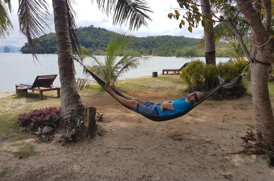 Koh Yao Noi sala – dar nenusiaubta turistų, čia švenčiau pernai naujus metus