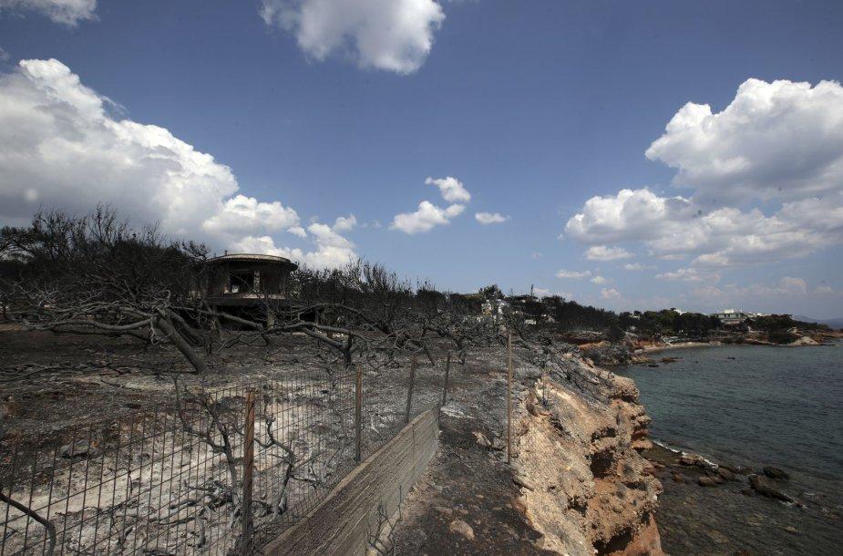 Graikija po gaisro