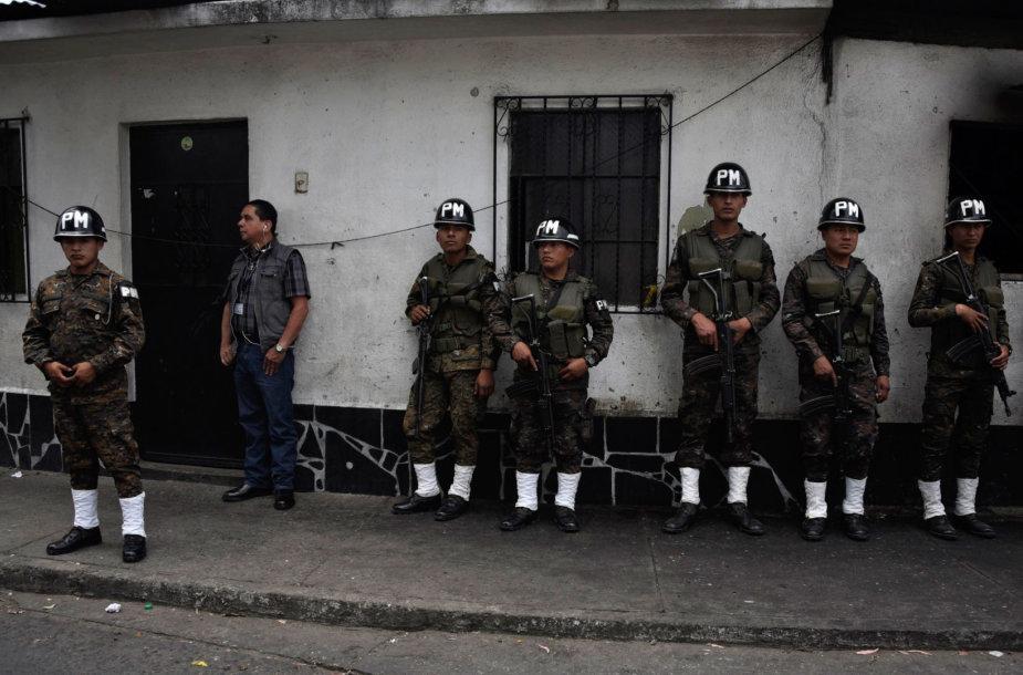 Gvatemalos pareigūnai