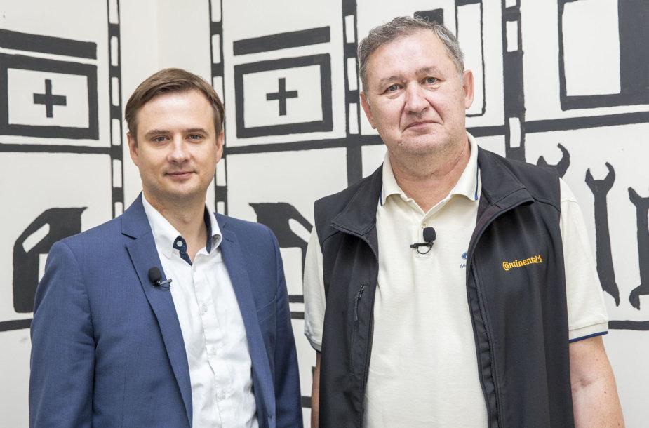 Artūras Pakėnas ir Andrius Jaržemskis