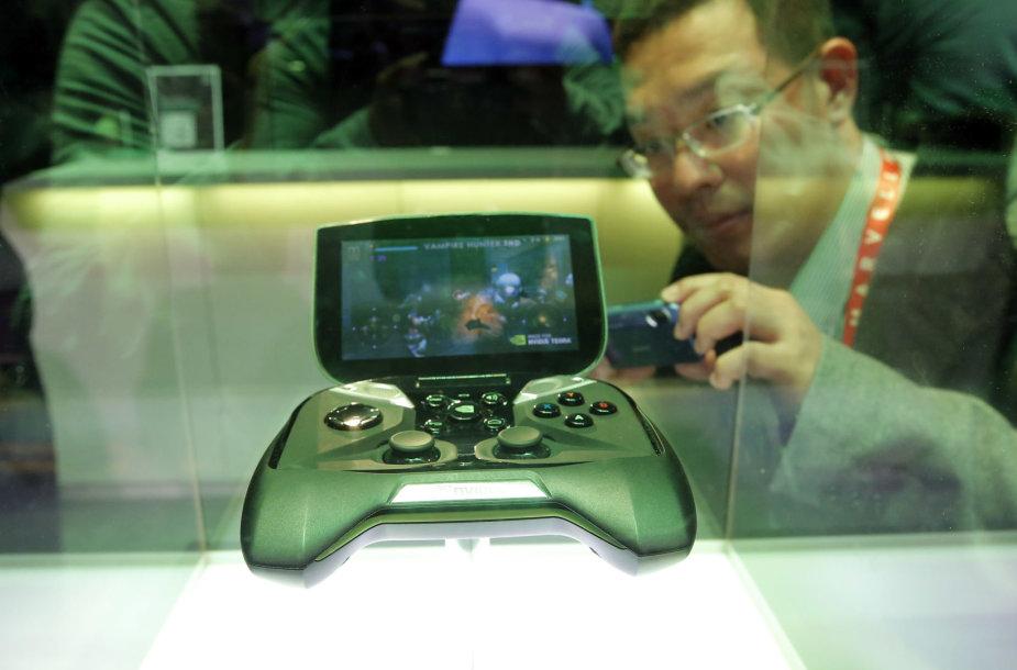 """""""Nvidia"""" žaidimų konsolė"""