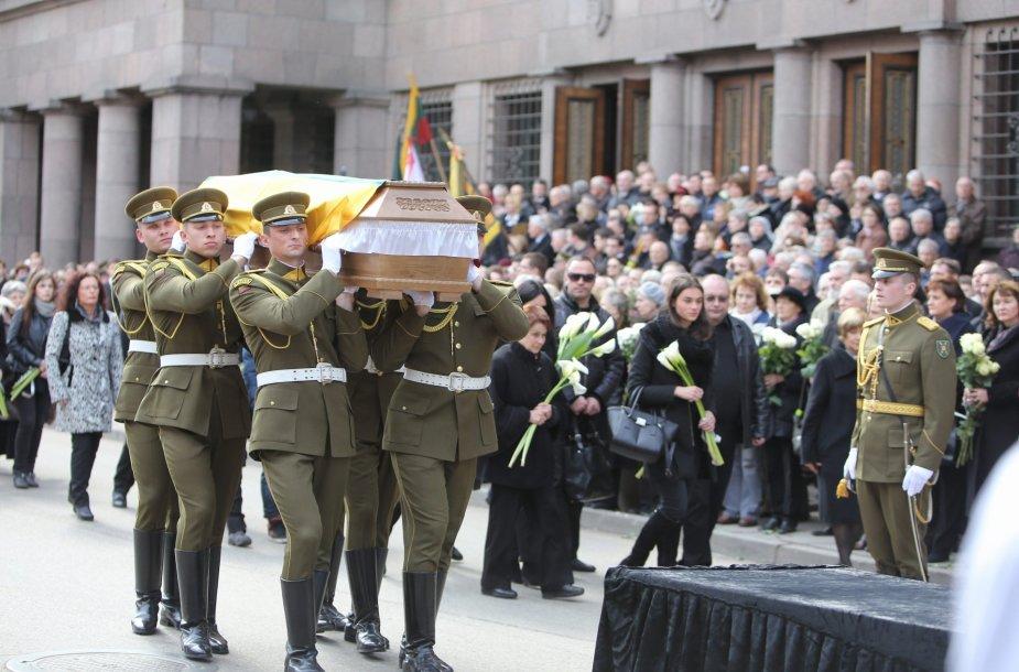Algirdo Patacko laidotuvės
