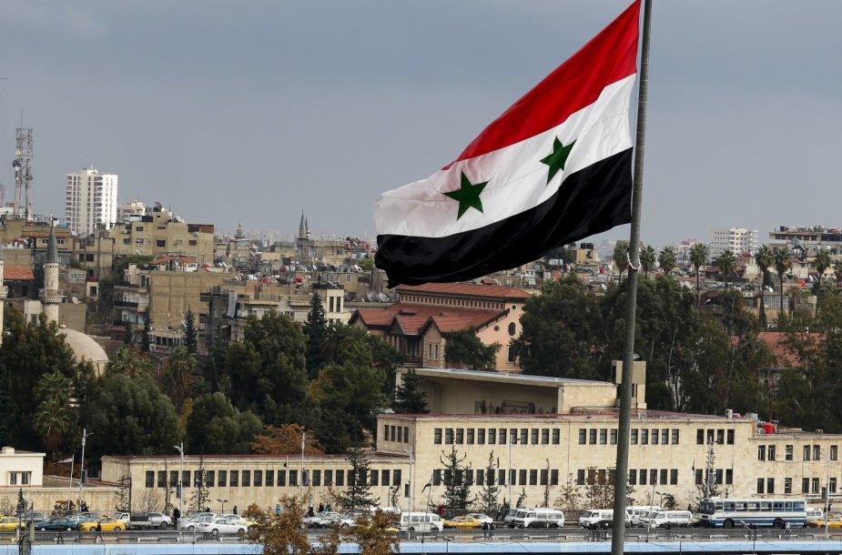 Gyvenimas Sirijos sostinėje Damaske