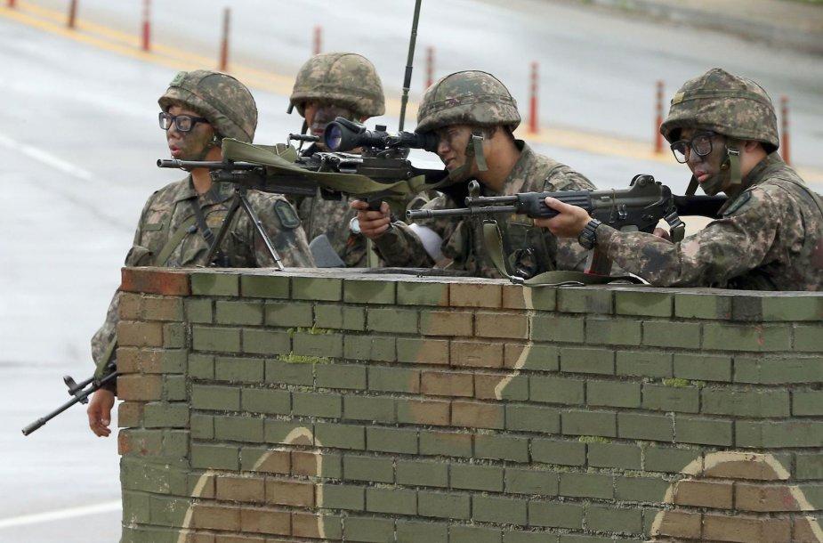 Pietų Korėjos kariai