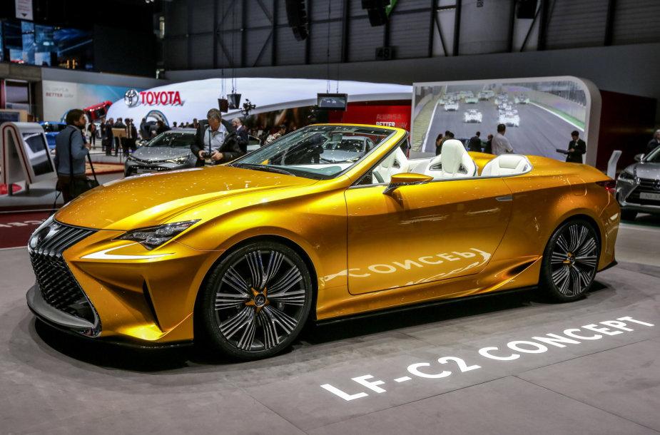 """""""Lexus LF-C2"""" konceptas"""