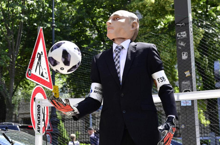 Protestas prieš pasaulio futbolo čempionatą