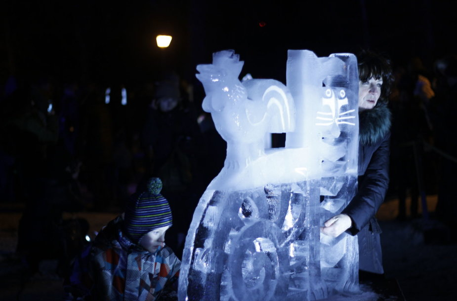 Ledo skulptūros