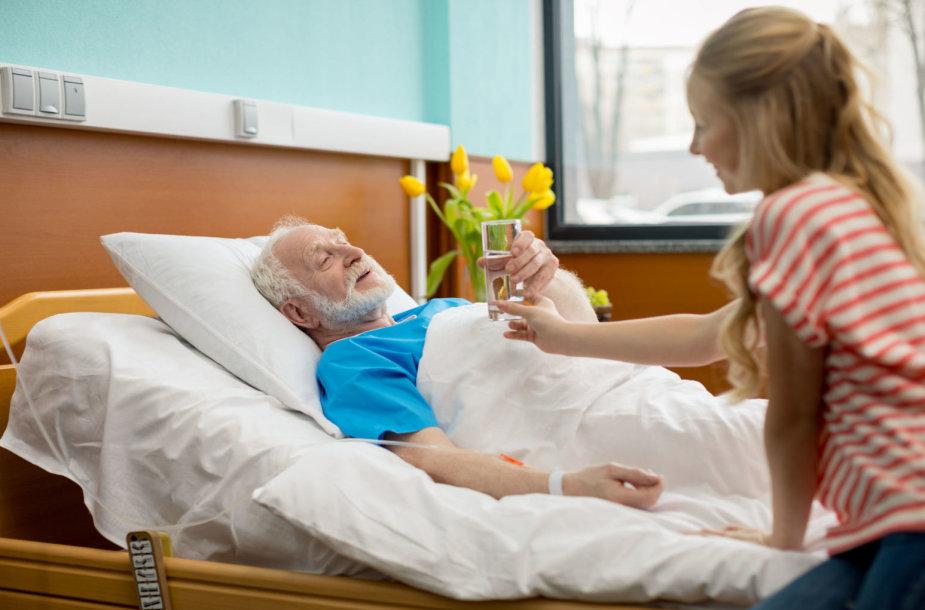 Vyras ligoninėje