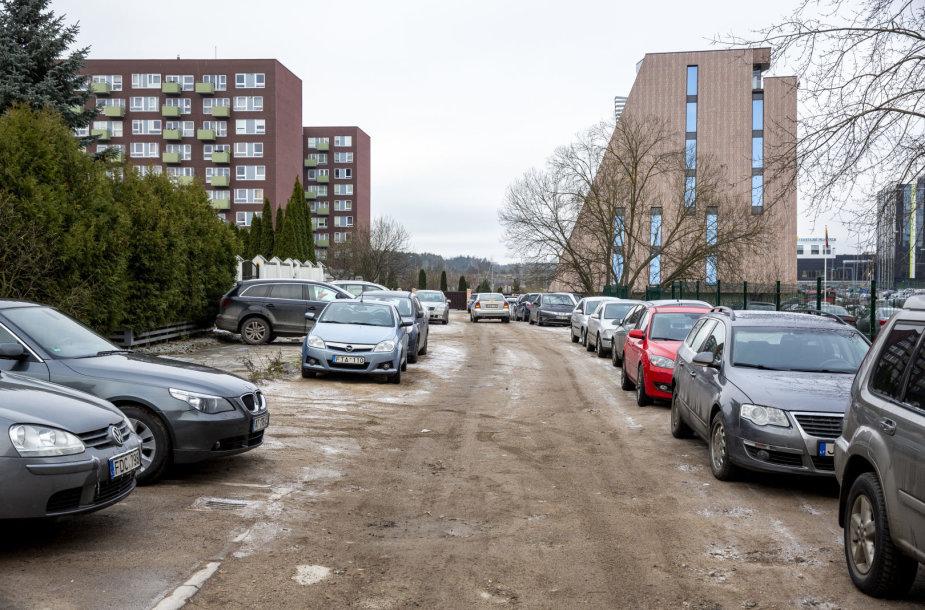 Mėnulio gatvė Vilniuje