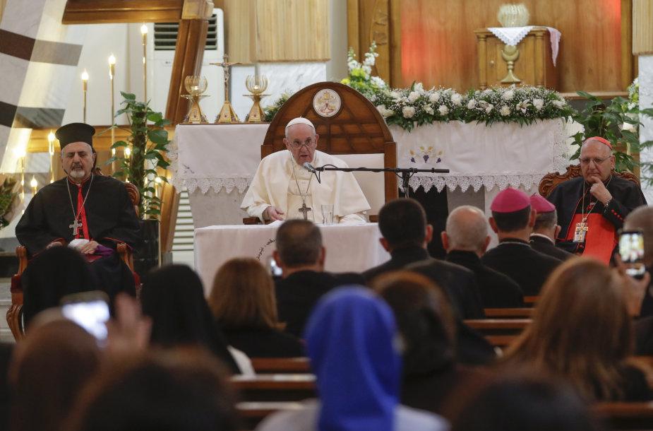 Popiežius Pranciškus Irake