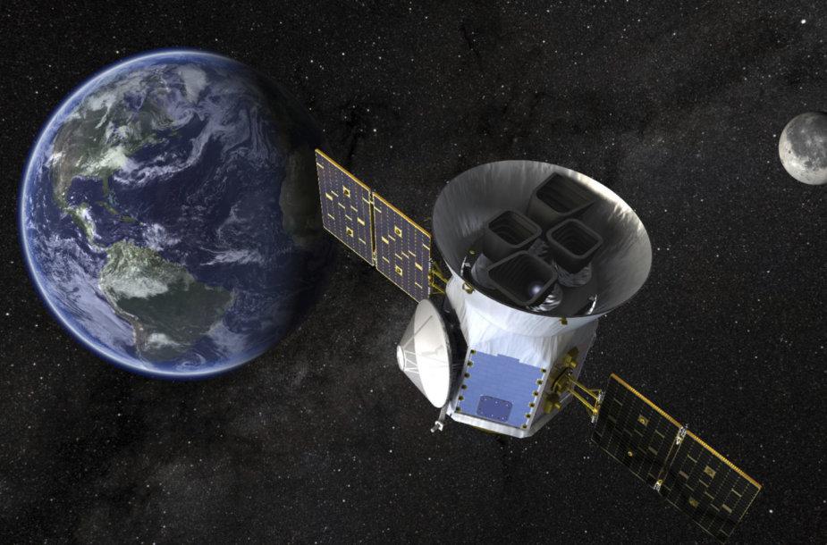 NASA egzoplanetų medžiotojas TESS
