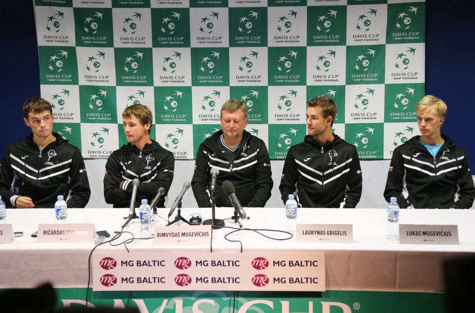 Lietuvos teniso rinktinė Daviso taurėje