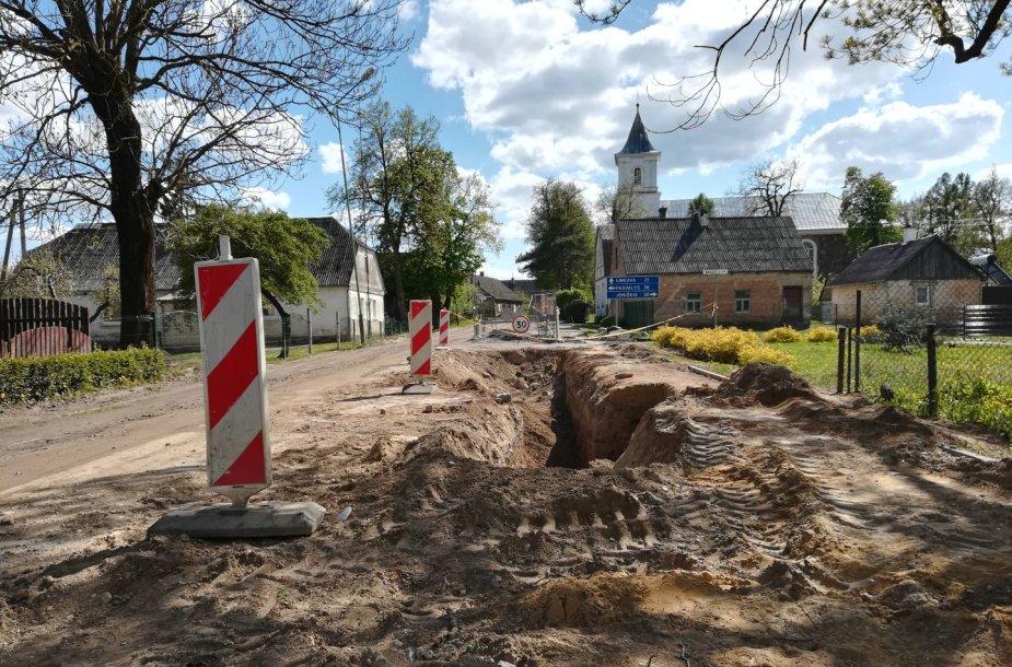 Archeologiniai kasinėjimai Žeimelyje