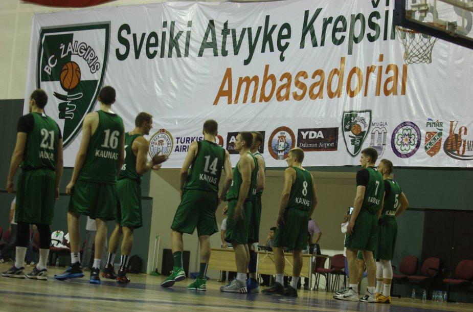 """""""Žalgirio"""" krepšininkai Turkijoje"""