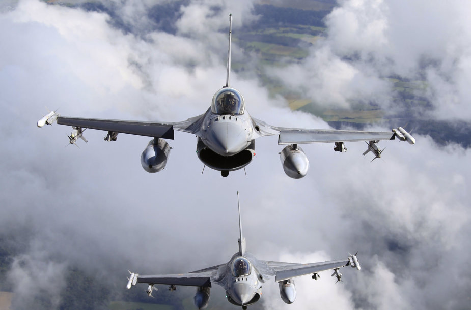 Belgijos naikintuvai F-16