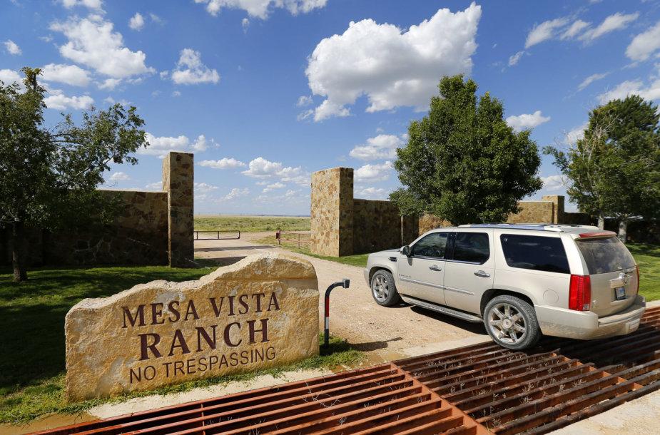 T.Boone Pickenso ranča