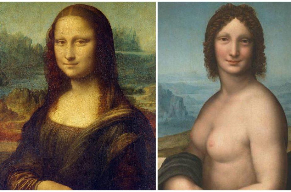 """""""Mona Liza"""" ir """"Monna Vanna"""""""