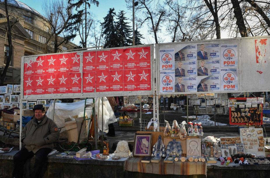Savaitgalį Moldovoje vyks parlamento rinkimai.