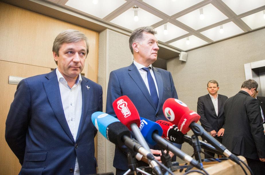 Ramūnas Karbauskis ir Algirdas Butkevičius