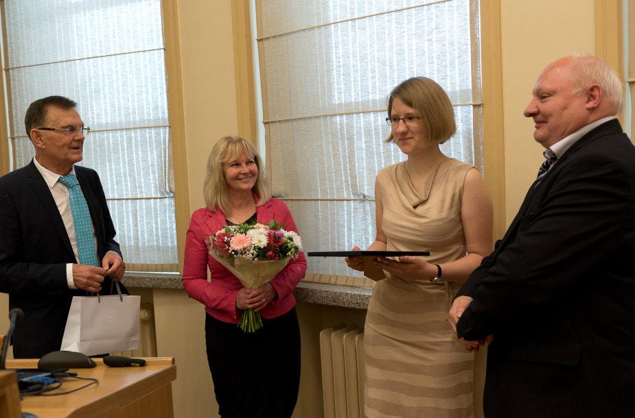 Neringa Levinskaitė, KTU Senato pirmininkas, Matematikos ir gamtos mokslų fakulteto dekanė ir Studiju prorektorius