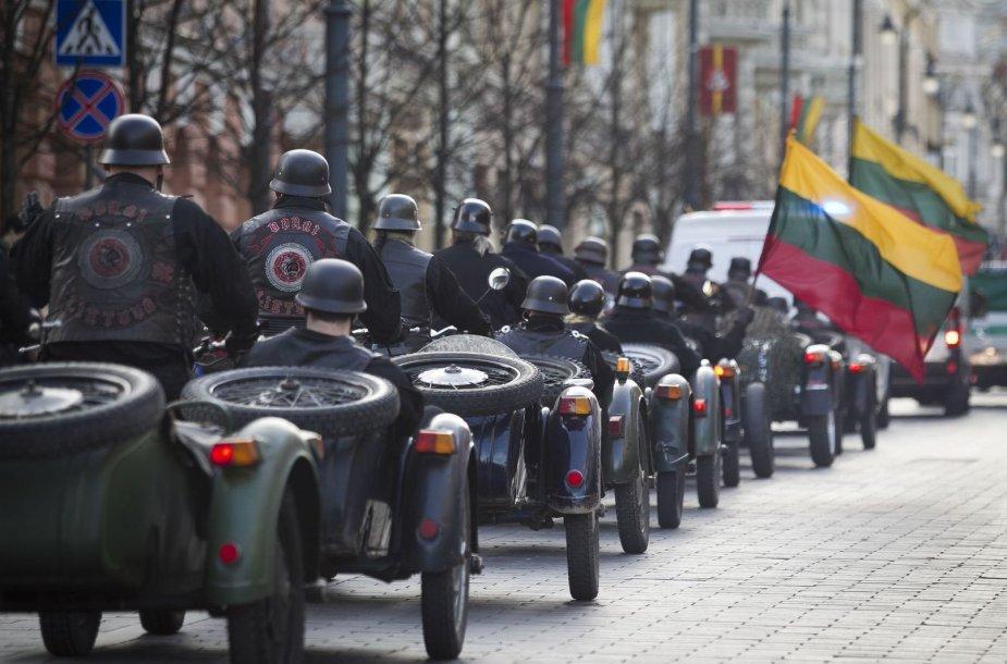 Vilniuje nacionalistų eitynės.