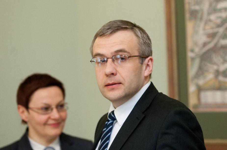 Jonas Markevičius ir Daiva Ulbinaitė