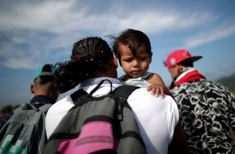 Migrantų karavanas