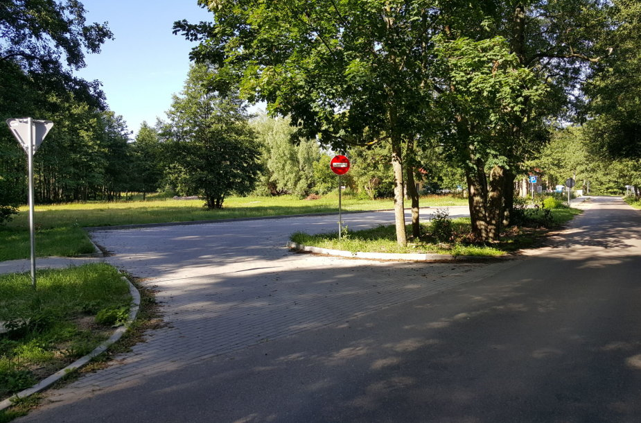 Nemokamas parkavimas kelyje Klaipėda-Karklė