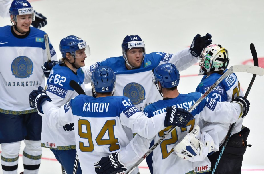 Kazachstano ledo ritulininkai