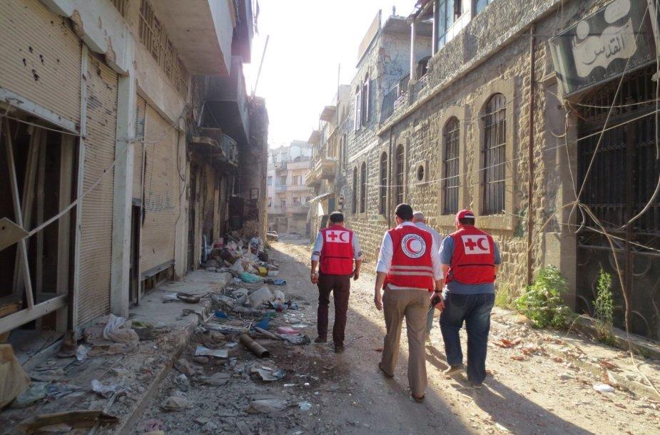 Raudonasis kryžius Sirijoje