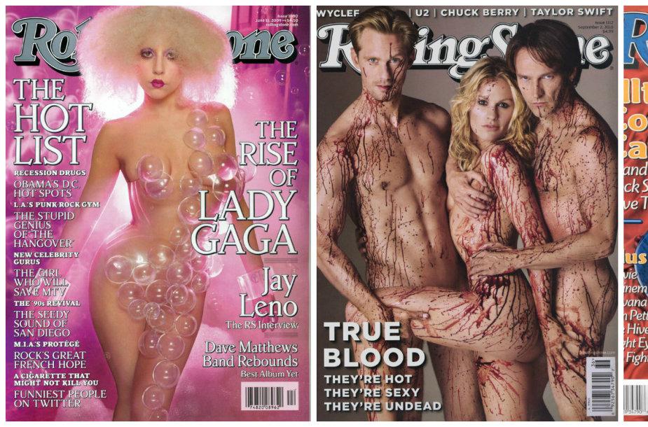 """Lady Gaga, serialo """"Tikras kraujas"""" žvaigždės ir Christina Aguilera"""