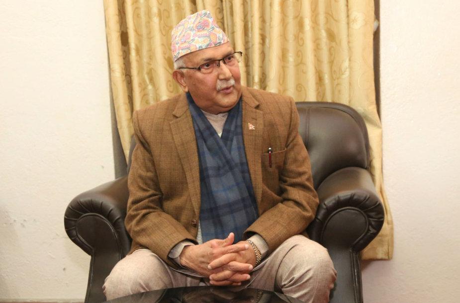 K.P.Sharma Oli