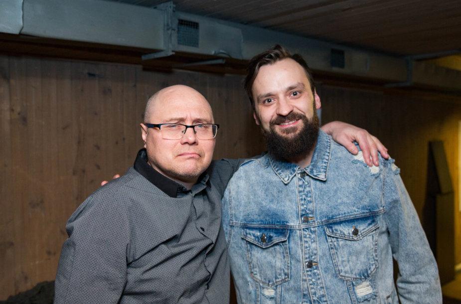 Rolandas Boravskis ir Tadas Gryn