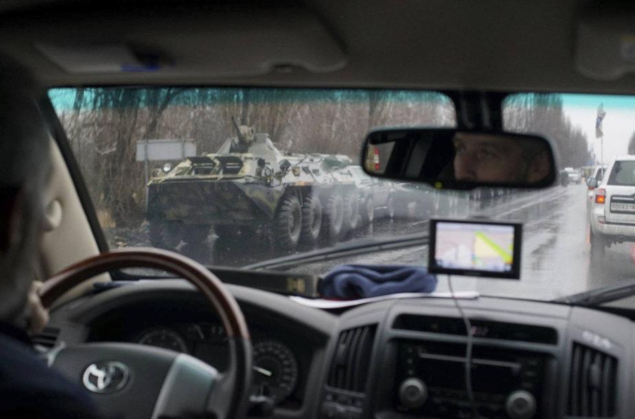 ESBO stebėtojų nuotrauka iš Luhansko