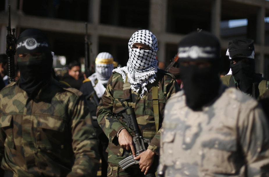 """""""Hamas"""" kovotojai Gazoje"""