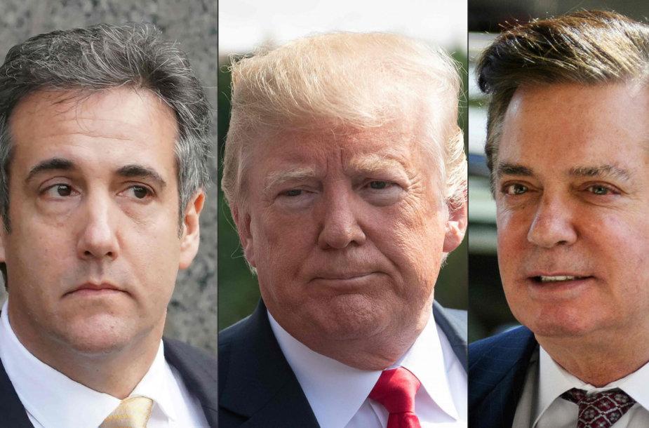 Michaelas Cohenas, Donaldas Trumpas ir Paulas Manafortas