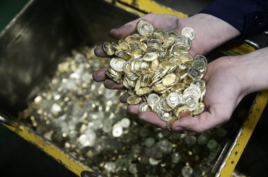 Dešimties rublių monetos