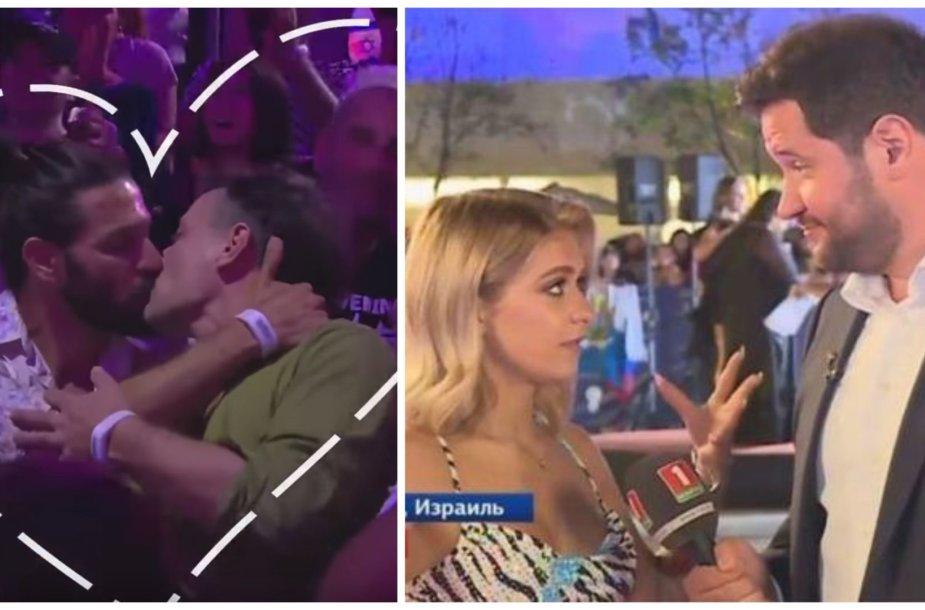 """""""Eurovizijos"""" gerbėjai pasmerkė Baltarusijos žurnalisto homofobiškus pasisakymus"""