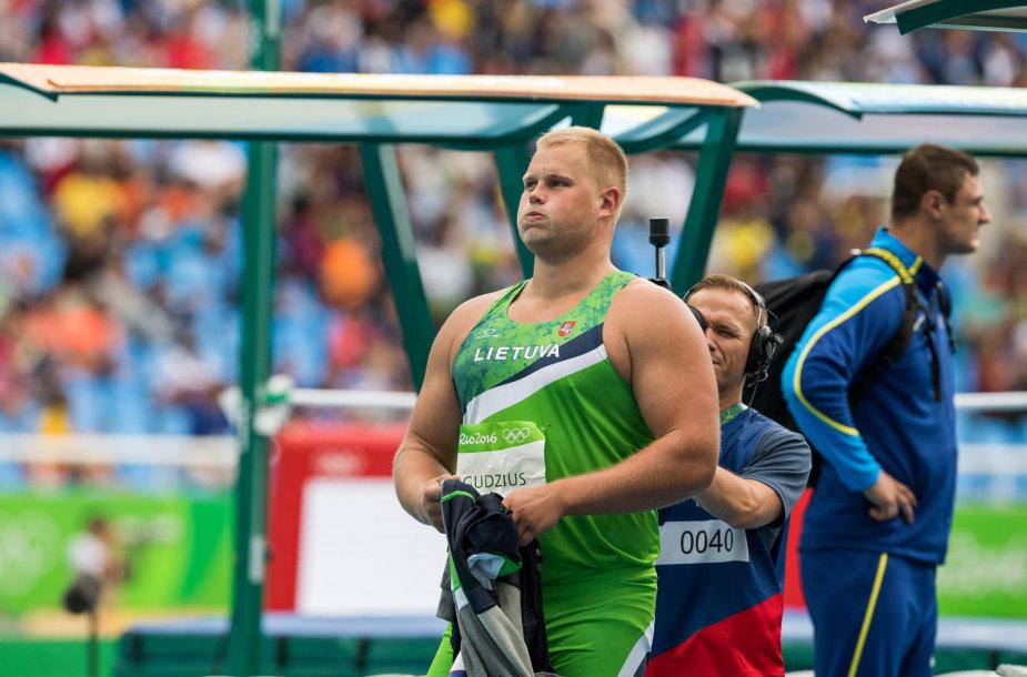 Andriaus Gudžiaus sėkmingas olimpinis debiutas