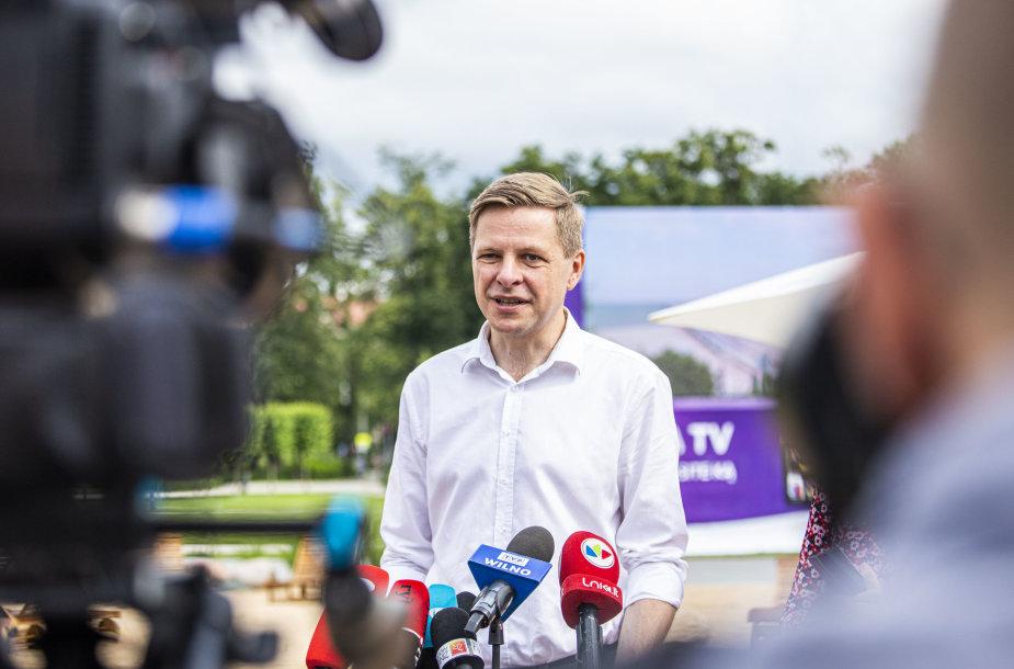Vilniaus miesto meras  – Remigijus Šimašius