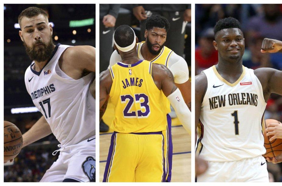 NBA sezonas startuoja