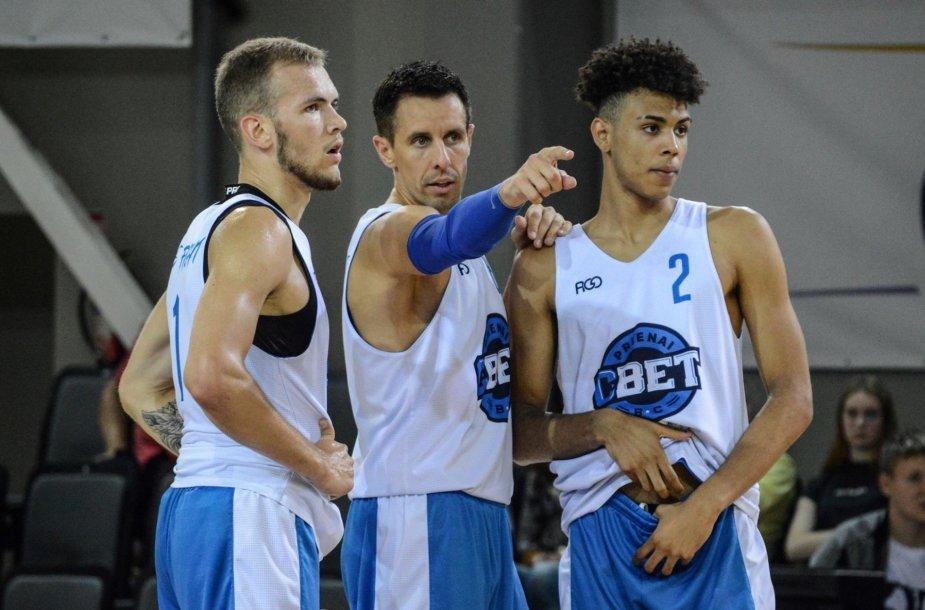 Arnas Velička, Mindaugas Lukauskis ir Tomas Digbey