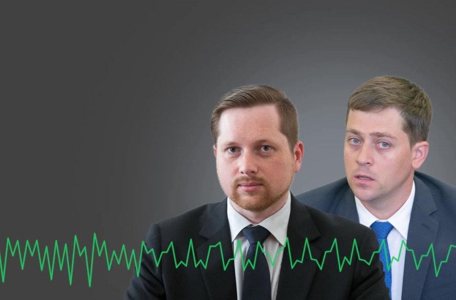 Įrašytas žemės ūkio viceministro Artūro Bogdanovo ir buvusio NŽT direktoriaus Danieliaus Kuprio pokalbis
