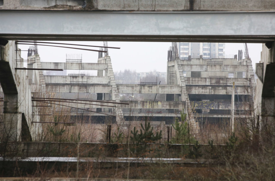 Nacionalinio stadiono griuvėsiai