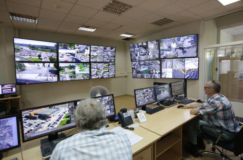 Naujos stebėjimo kameros Vilniaus mieste